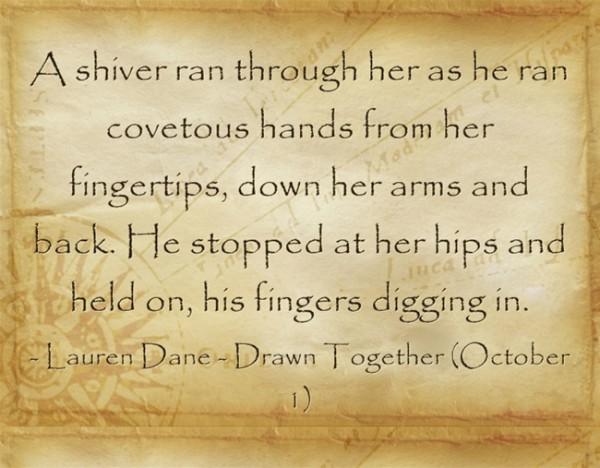 A-shiver-ran-through-her